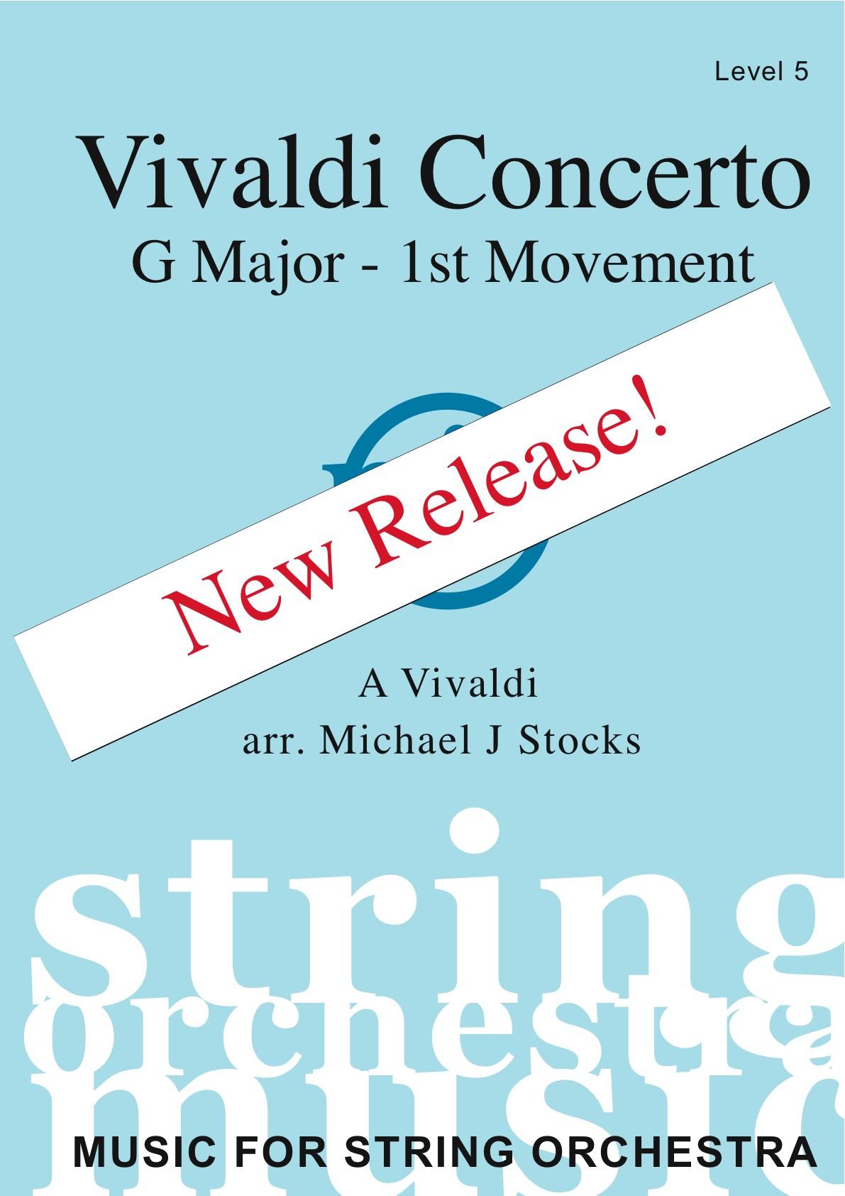Vivaldi Concerto in G Major - 1st Mvt. (level 5)