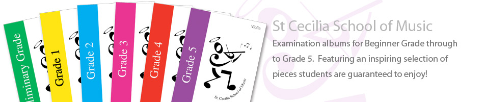 St Cecilia School of Music - Examination Albums