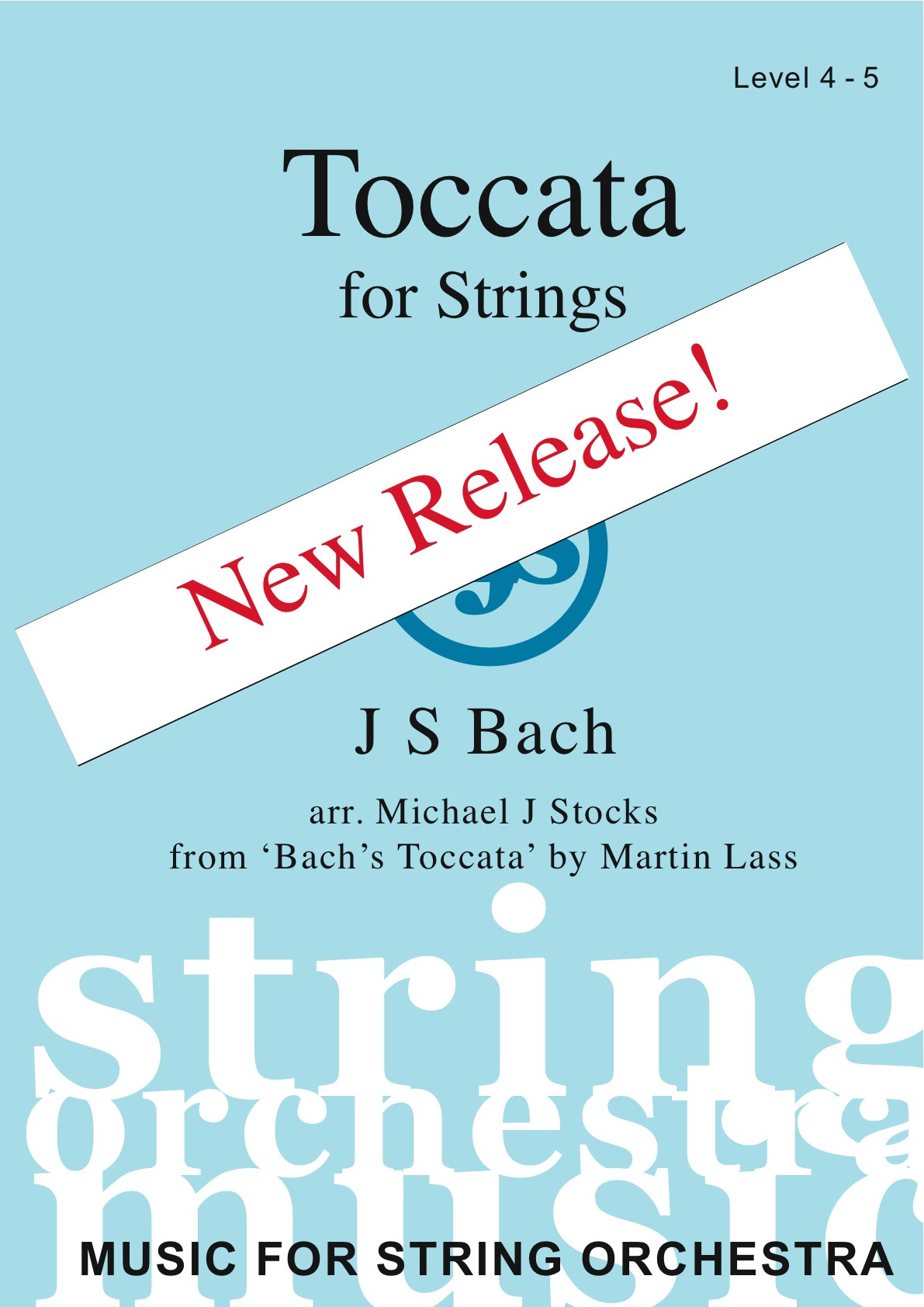 Toccata for Strings (level 4-5) - Includes backing CD